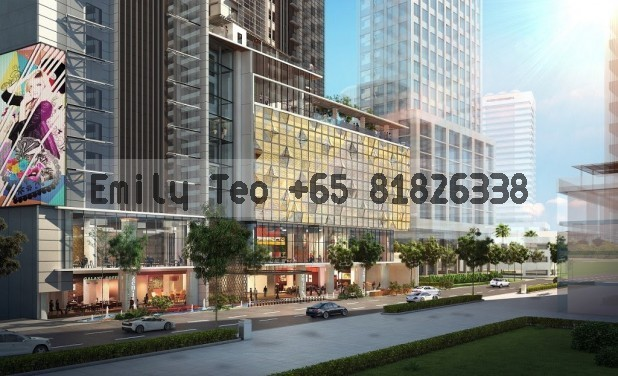 Suasana Iskandar Top Soon @ City Square Shpg Ctr Johor Apartment, For Sale