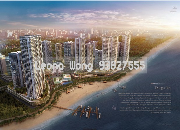Country Garden Danga Bay Johor Condominium, For Sale