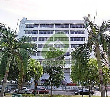 Wedge Mount Industrial Building