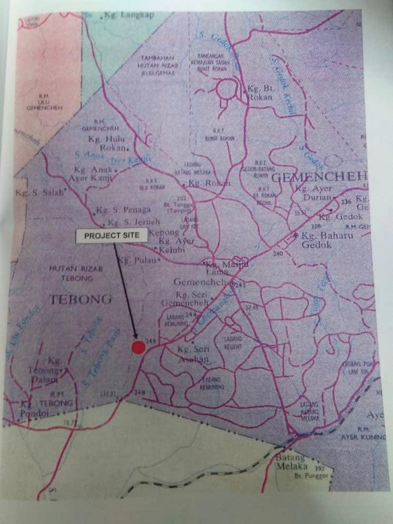 Negeri Sembilan, Tampin For Sale - Kuari Batu, Komparment Land Negeri Sembilan