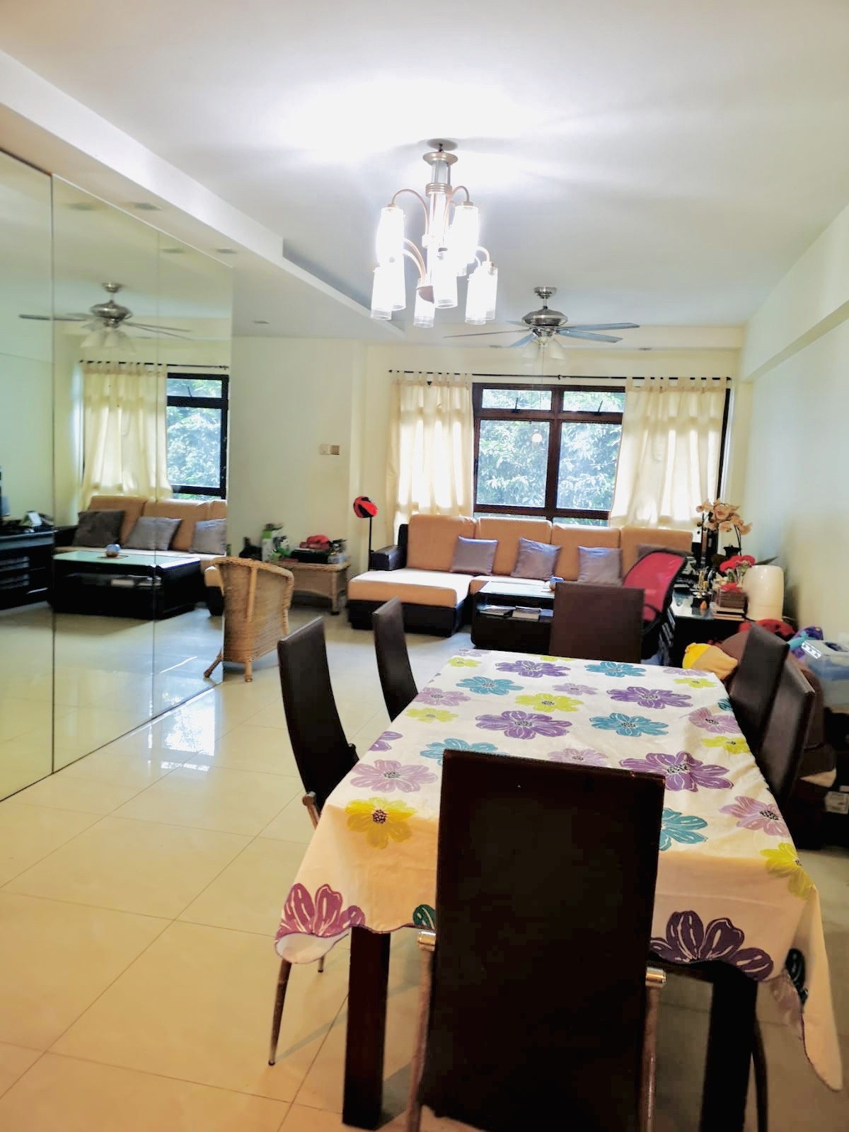 HDB for RENT - 5 ROOM FULLY FURNISHED NEAR AMK MRT